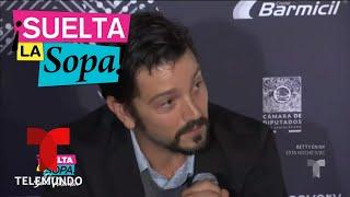 Diego Luna volvió a defender a Yalitza Aparicio | Suelta La Sopa | Entretenimiento
