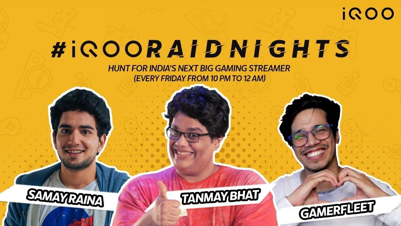 🔴#iQOORaidNights - Grand Finale ft. Tanmay Bhat & Samay Raina