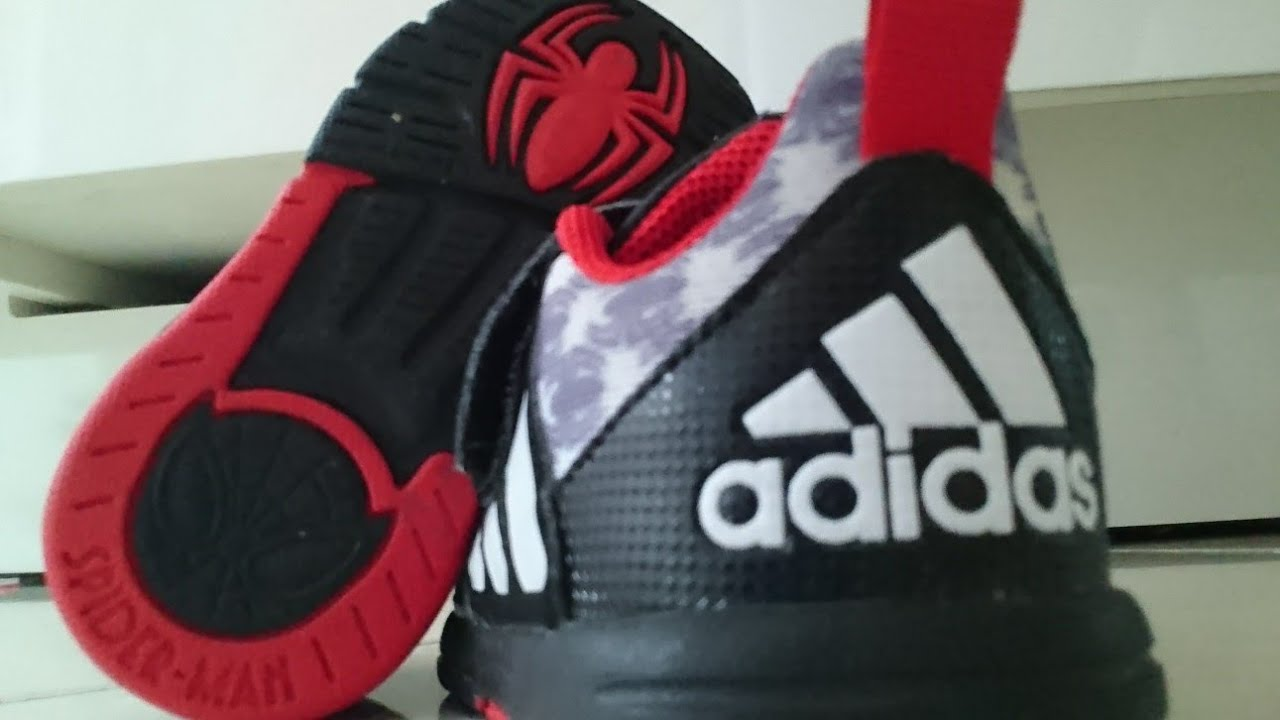 Spiderman shoes for kids - Adidas
