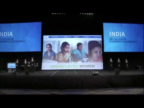 Enactus World Cup 2012 - Third Place - India
