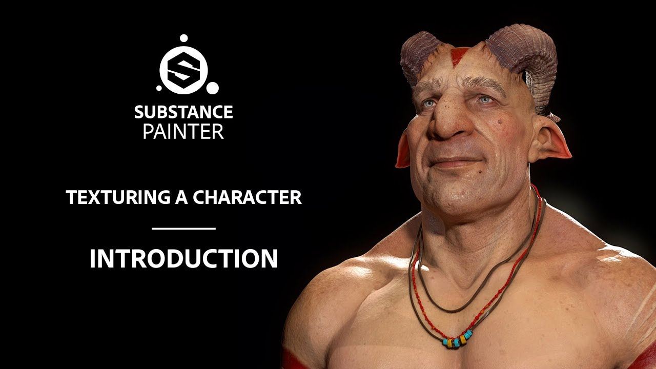 Texturing Characters in Substance Painter - Introduction