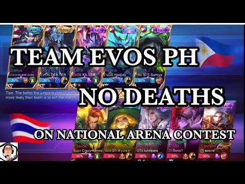 Evos PH Dominates National Arena Contest with No Deaths