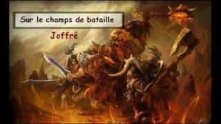 """Sur le champ de bataille - Joffré (instru: """"l"""