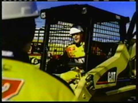 Cat Rental Store Commercial - Mix Up With Equipment And Ward Burton Car