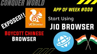 How to Use Jio Browser| Alternative to UC Browser| App of the Week by @CONQUER WORLD screenshot 5