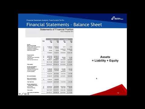 Financial Statement Analysis From Scratch to Pro | Bursa MKTPLC Webinars