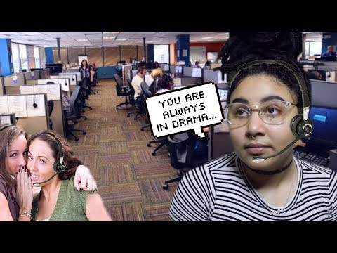 STORYTIME: MY MESSY DRAMA'D OUT COWORKER!   CALL CENTER STORIES #17