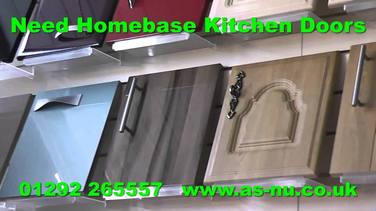 Homebase kitchen doors and homebase kitchens youtube for Homebase kitchen cabinets