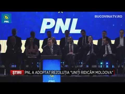 PNL a adoptat rezolutia Uniti ridicam Moldova