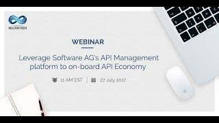 L'effet de levier de Software AG API de Gestion de la plate-forme pour à bord de l'API de l'Économie