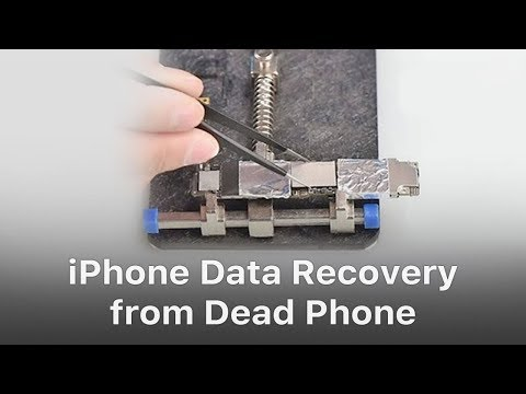 iPhone Data Recovery from Dead Logic Board \/ Phone  YouTube