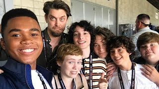 it movie cast funny moments part 9