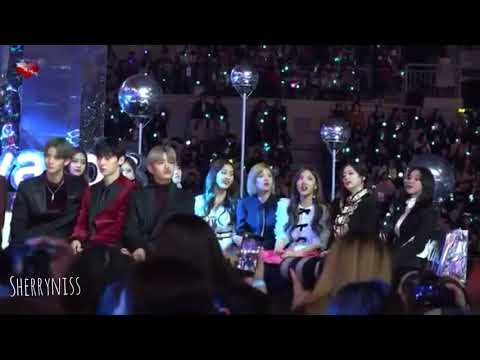 TWICE's Reaction to WINNER REALLY REALLY at MMA 2017