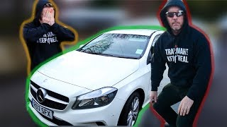 I STOLE NILES CAR WHILST HE TRAINED **prank wars** thumbnail