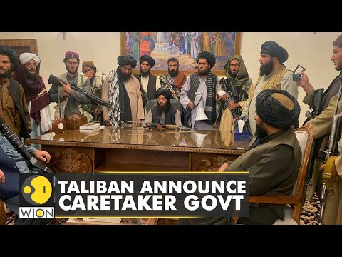 Taliban establishes caretaker government in Afghanistan   World News   Latest English News   WION