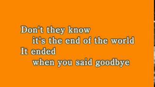 【歌えるオールディーズ 2】 この世の果てまで (スキーター・デイヴィス)