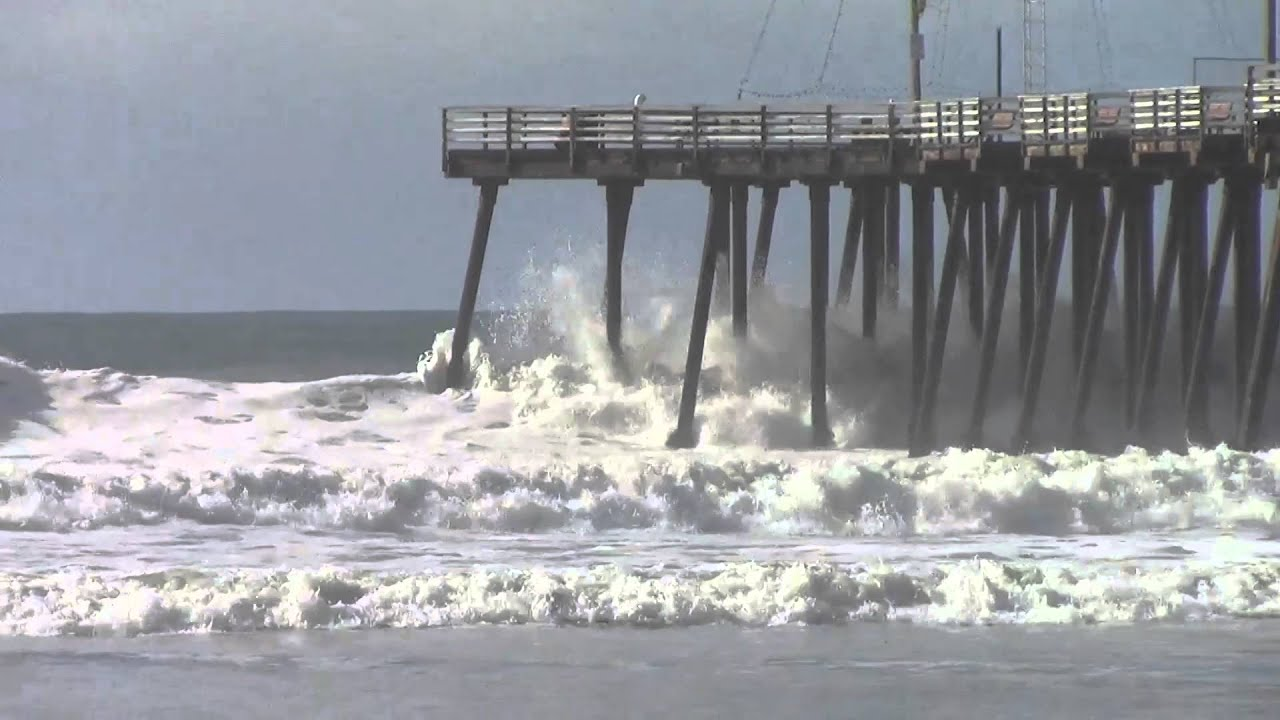 High Waves At Pismo Beach