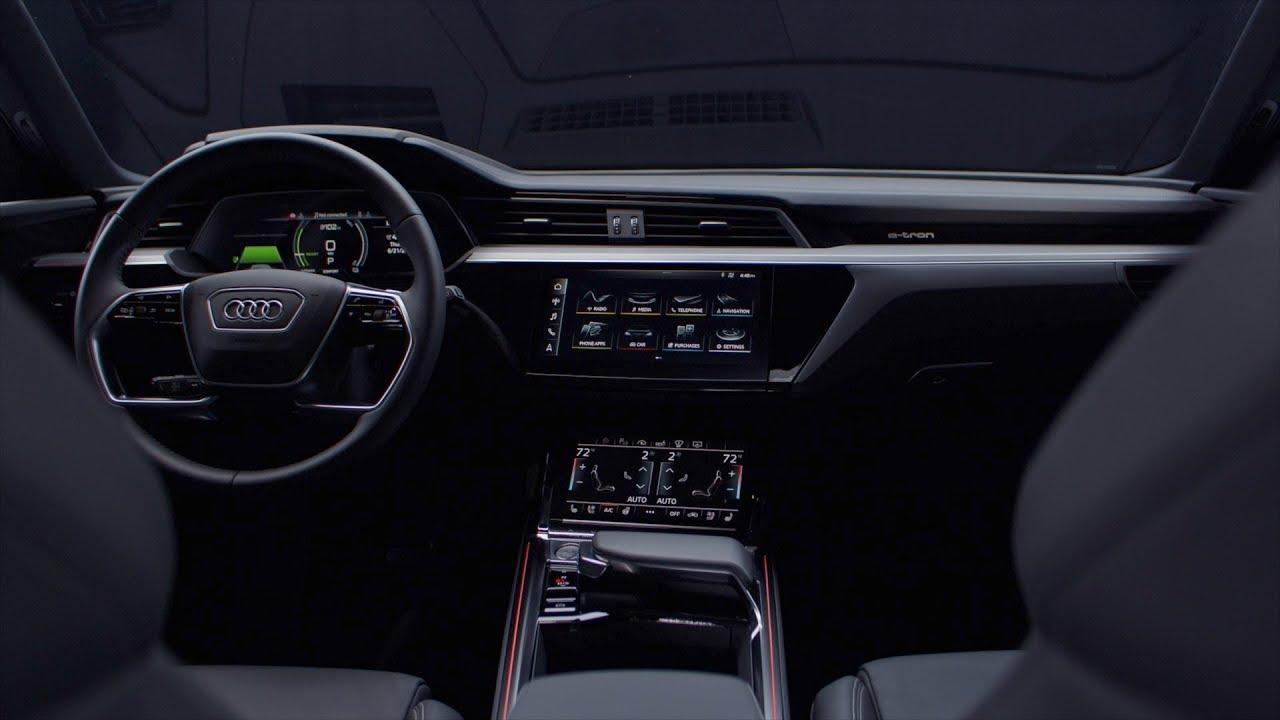 Audi E Tron Defined Interior Design Youtube