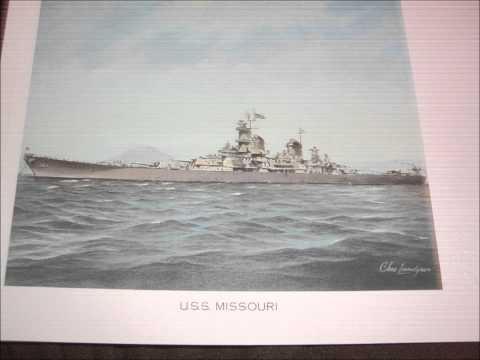 Charles Lundgren maritime artist