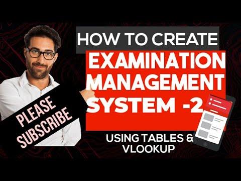 School Management System in excel urdu hindi - Myhiton