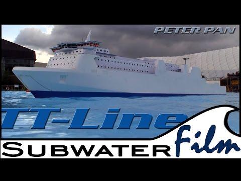"""RoPax-Ferry """"PETER PAN"""" / Kombifähre der TT-Line - Modellbau LIVE 2014"""