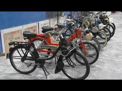 Le Vélo Solex Assemblé à Saint Lô Dans La Manche
