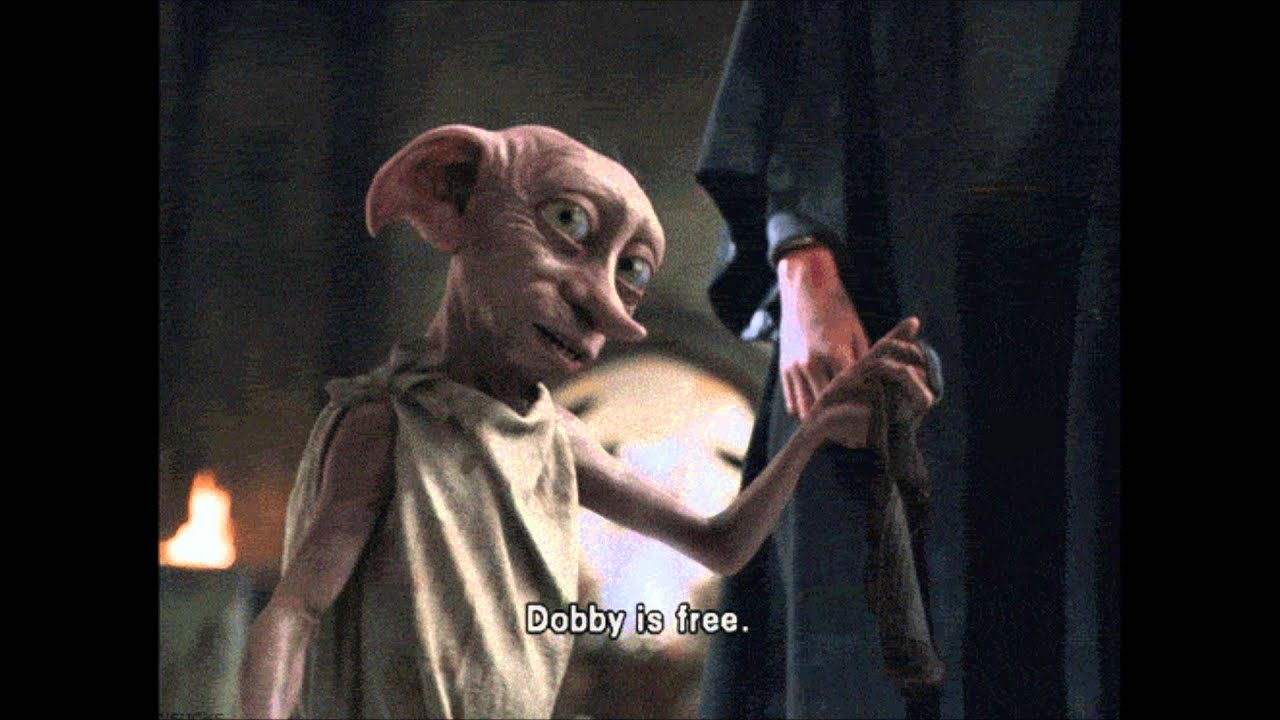 Harry Potter House R I P Dobby Your Free Youtube