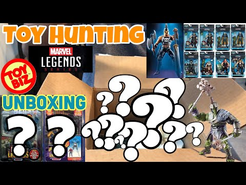 Toy Hunting Marvel Legends ARES from Thor Ragnarok Wave, Huge Rare Toy Biz Marvel Legends Unboxing