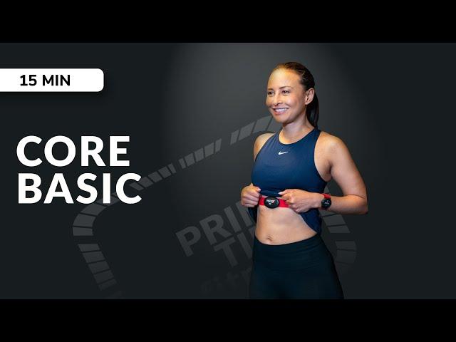 Live Session Workout Core basic - für eine starke Rumpfmuskulatur