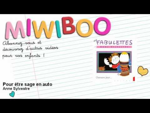 Anne Sylvestre - Pour être sage en auto - Miwiboo