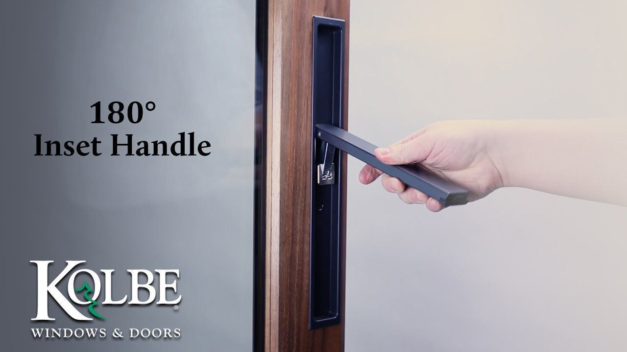 180° Inset Handle for TerraSpan Lift & Slide Doors - YouTube