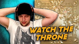 Watch The Throne - Jay-Z and Kanye West - FULL ALBUM REACTION!! (first time hearing)