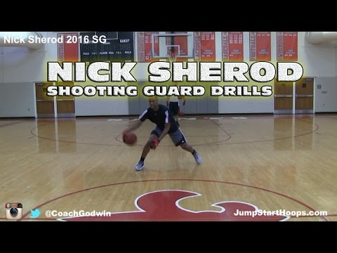 Shooting Guard Drills (ft. Nick Sherod) | Off-Season Training Coach - Godwin Ep: 132