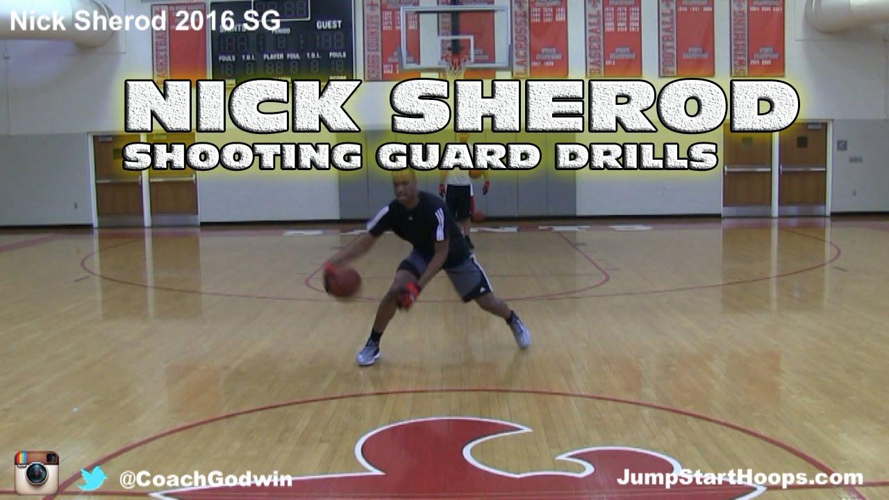 Shooting Guard Drills (ft  Nick Sherod)   Off-Season Training Coach -  Godwin Ep: 132