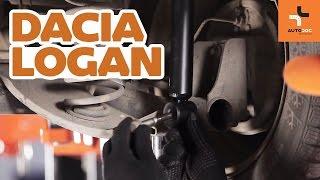 Installation Stoßdämpfer Satz hydraulisch und luftdruck DACIA LOGAN: Video-Handbuch