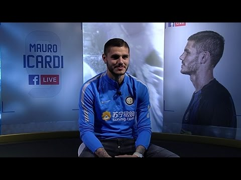 FACEBOOK LIVE WITH MAURO ICARDI
