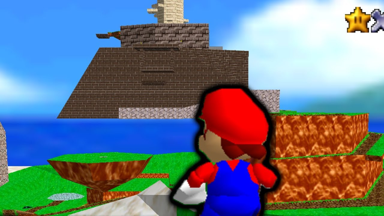 All Mario 64 Levels in 1 Map (cool)