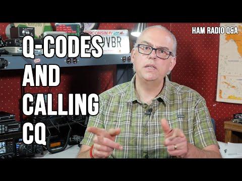 Q-Codes And Callling CQ - Ham Radio Q&A