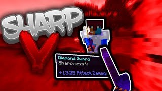 SHARP V DIAMOND IN SOLO UHC (Hypixel UHC Highlights)