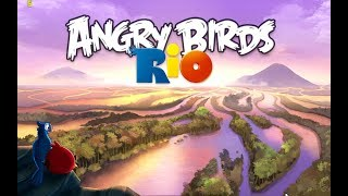 Angry Birds: Rio. Airfield Chase. All levels 3 stars Прохождение от SAFa