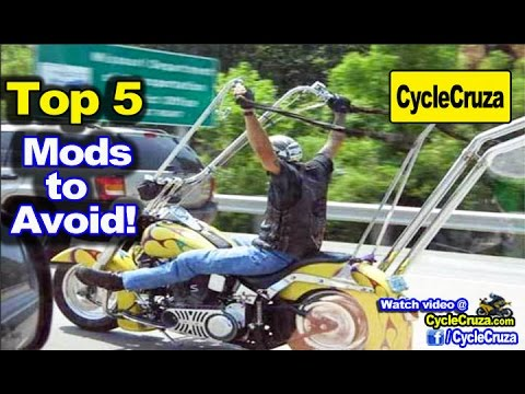Top 5 Mods to AVOID for Motorcycle! | MotoVlog