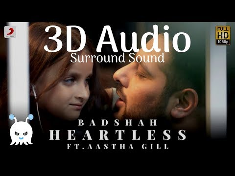 Badshah ft. Aastha Gill - Heartless | 3D Audio | Surround Sound | Use Headphones 👾