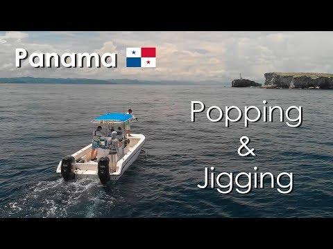 Popping & Jigging - Panama 2019 - Panafishing - Full Film