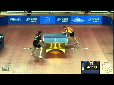 Final World Olympic Qualification 2012: Paul Drinkhall vs. Carlos Machado