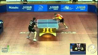 Final World Olympic Qualification 2012: Paul Drinkhall vs. Carlos Machado