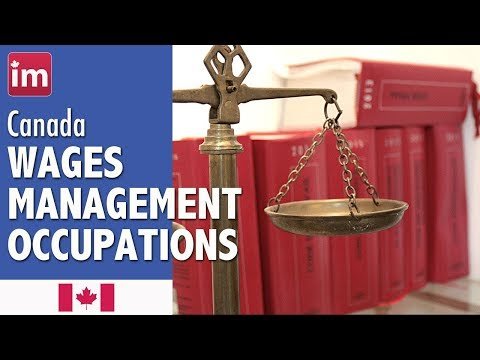 Salaries In Management Occupations In Canada