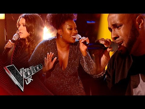 Capital B vs. Ryhann Thomas - 'I Wanna Be The Only One': The Battles | The Voice UK 2017