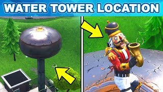 Dance on top of a WATER Tower Location Week 5 Challenges Fortnite