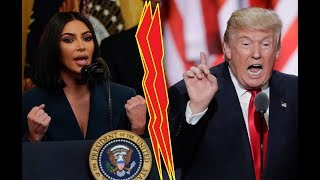 Kim Kardashian Speaks At The White House!