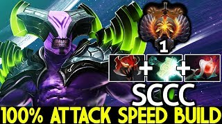 SCCC [Faceless Void] 100% Attack Speed Build Top 1 MMR Gamepla…